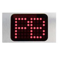 Display rotativo rojo (Estandar)